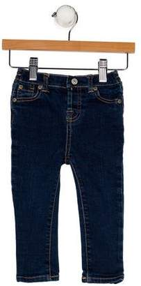7 For All Mankind Boys' Five Pockets Straight-Leg Jeans