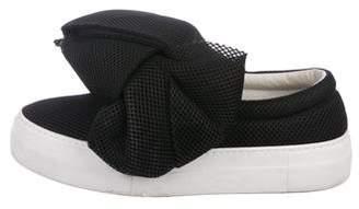 Joshua Sanders Mesh Slip-On Sneakers