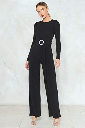 Nasty Gal Ring Into Play Wide-Leg Jumpsuit