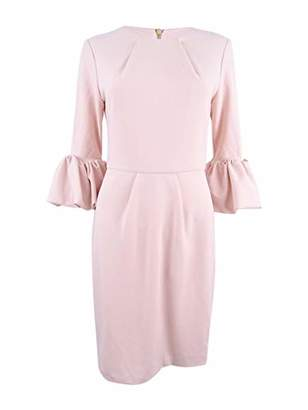 Betsy & Adam Women's Bell Sleeve Dress