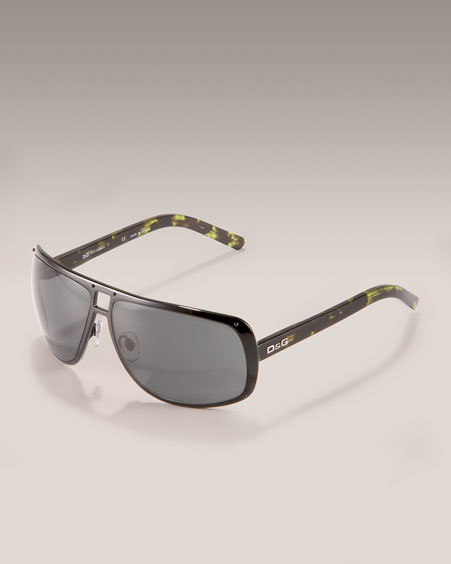D&G Cable Sunglasses, Black