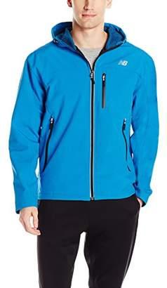 New Balance Men's Soft Shell Bonded Hooded Jacket