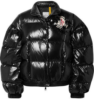 Simone Rocha Moncler Genius + 4 Quilted Glossed-shell Down Jacket