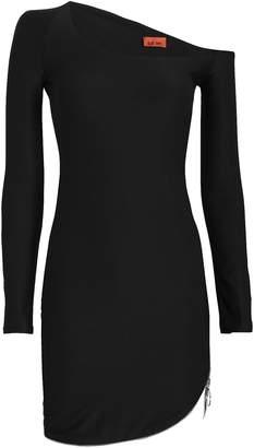 Alix Ainslie Zip Jersey Mini Dress