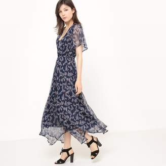 at La Redoute · La Redoute Collections Low Cut Paisley Print Maxi Dress 0879ff638