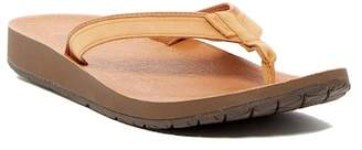Teva Azure Leather Flip Flop (Women)