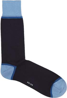 Reiss Roter Colour Blocked Socks