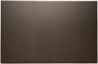 Bey-Berk Bey Berk Coco Brown Leather Desk Pad