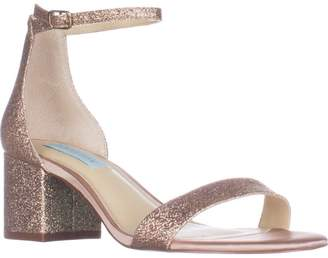 Betsey Johnson Blue Miri Ankle Strap Evening Sandals