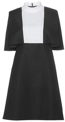Valentino Two-tone wool dress