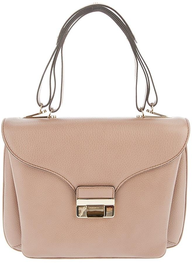 Valentino Gold clasp bag