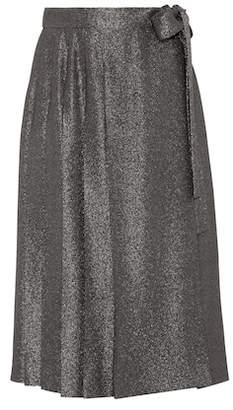 Prada Metallic skirt