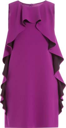 Moschino Ruffled Crepe Dress