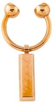 Chopard Logo Metal Keyring