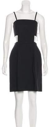Tomas Maier Sleeveless Mini Dress