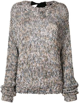 Rochas cable knit jumper
