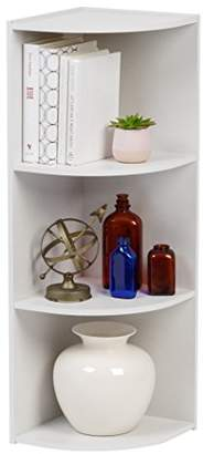 IRIS 3-Tier Corner Curved Shelf Organizer
