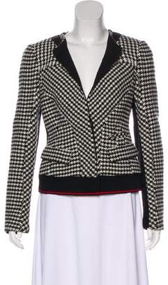 Donna Karan Wool Houndstooth Jacket