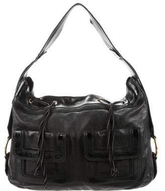 Saint Laurent Leather Hobo