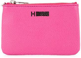 H Beauty&Youth logo stamp zip wallet
