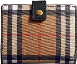 Burberry small vintage check wallet