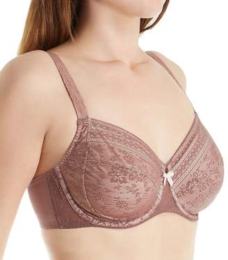 Rosa Faia Women's Underwired Full Figure Lace Bra 5653 Berry 36 F