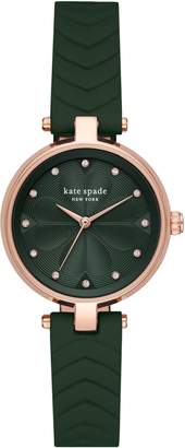 Kate Spade Annadale Leather Strap Watch, 30mm