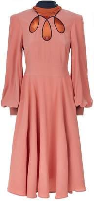 Roksanda Adena Silk Dress
