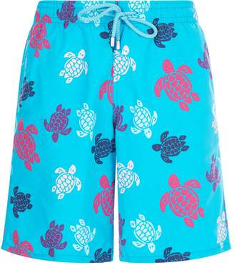 Vilebrequin Turtle Pattern Swim Shorts