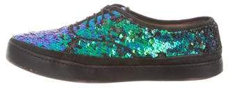 Paul Smith Sequined Low-Top Sneakers
