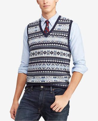 Polo Ralph Lauren Men Fair Isle Sweater Vest