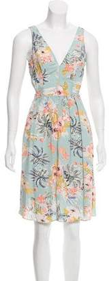 Reformation Sleeveless Knee-Length Dress