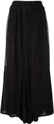 Yohji Yamamoto Yasha 2-way suspender pants
