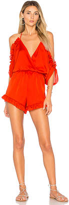 Lovers + Friends Lovers + Friends x REVOLVE Malia Romper in Red $158 thestylecure.com