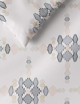 Marks and Spencer Cotton Diamond Jacquard Bedding Set