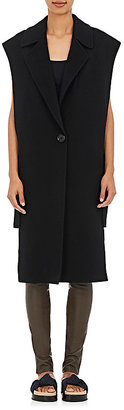 Helmut Lang Women's Belted Long Vest $725 thestylecure.com