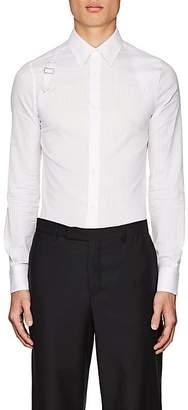 Alexander McQueen Men's Striped Cotton Harness Shirt