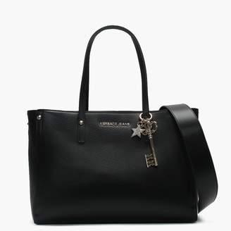 2b761f7d8f Versace Tula Black Structured Shopper Bag