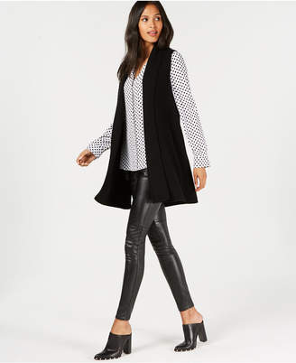 Charter Club Pure Cashmere Shaker-Stitch Vest, Created for Macy's