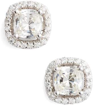 Lafonn Cushion Cut Simulated Diamond Stud Earrings