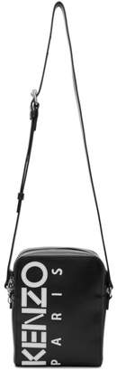 Kenzo Black Large Crossbody Bag