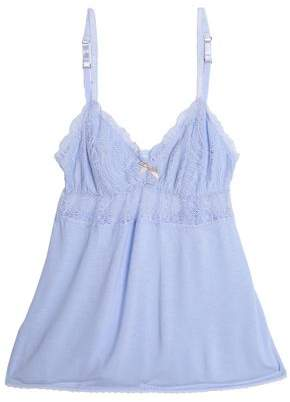 Eberjey Lace-Trimmed Jersey Camisole