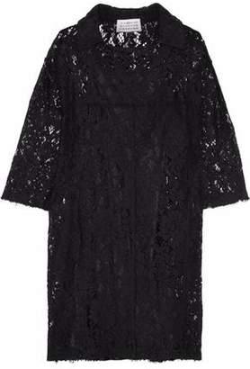Maison Margiela Cotton-Blend Corded Lace Dress