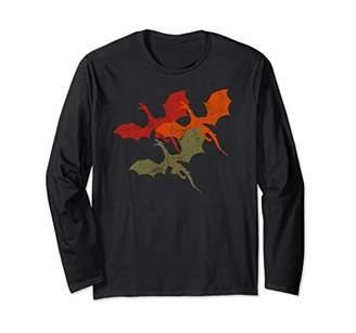 Dragon Optical T-shirt Lover of Dragons Shirt Three Dragons Gift