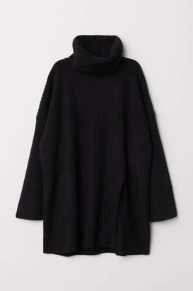 H&M Wool-blend Turtleneck Sweater - Black