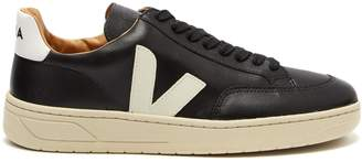 Veja V-12 Pierre leather trainers