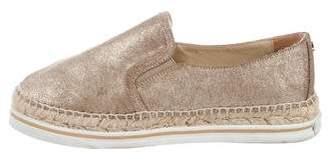 Jimmy Choo Suede Slip-On Sneakers