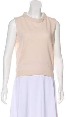 Marc Jacobs Cashmere Sleeveless Top pink Cashmere Sleeveless Top