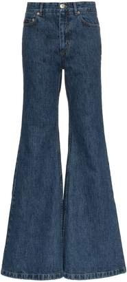 Matthew Adams Dolan Ultra-flared denim jeans