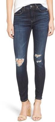 Women's Blanknyc Distressed Skinny Jeans $88 thestylecure.com